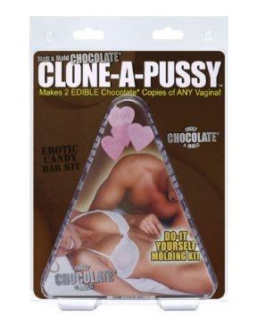 Make Your Own Dildo Clone A Pussy - Edible Chocolate - An easy-to-use vagina molding kit