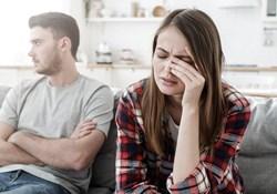 unhappy couple