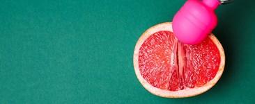 vibrator and grapefruit