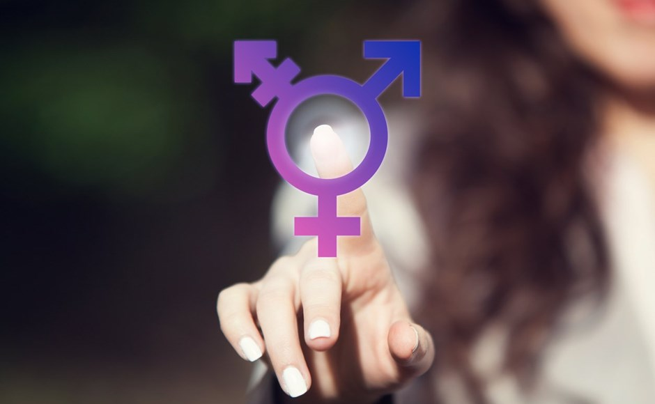 male female and transgender symbols