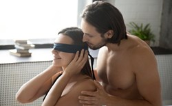 Using fantasy and dirty talk is a great way to incorporate experiences into your sex life that may be either logistically impractical or simply outside of your comfort zone.It sounds like you're already on the right track...