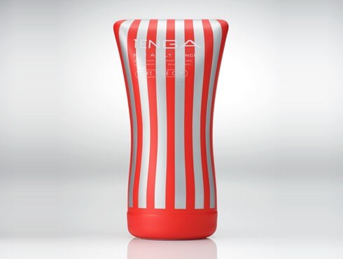 TENGA SOFT TUBE CUP - A male masturbation cup that provides complete control over pressure and sensation.