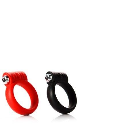 Tantus Vibrating C-Ring - A vibrating penis ring to pleasure both partners simultaneously.