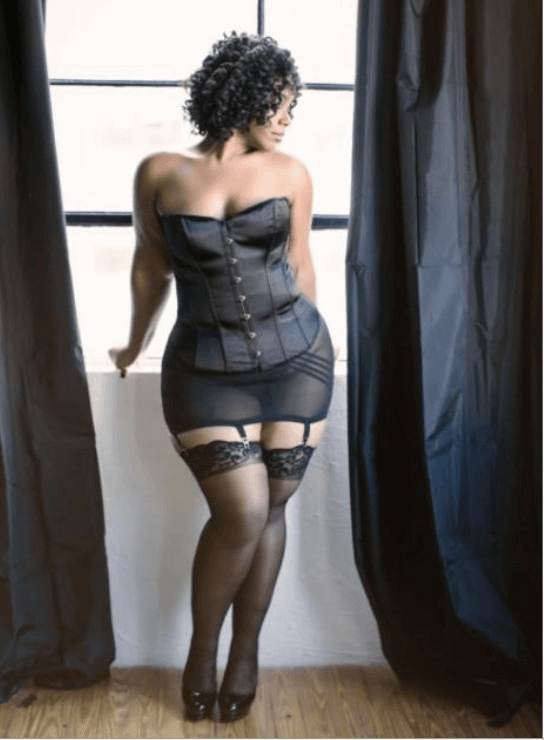 Why Plus-Sized Boudoir Shoots Are So Damned Liberating