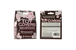 California Exotic Toy Covers 3-Pack Standard - Sanitary vibrator cover sleeves.