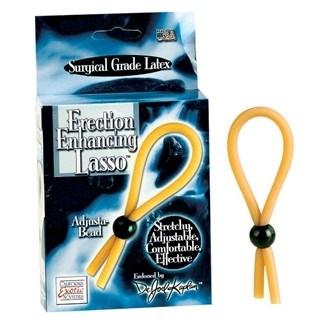 California Exotic Dr. Joel Kaplan Erection Enhancing Lasso Rings - Adjustable erection enhancement rings.