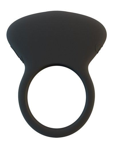 BMS Factory Lux Lx4 - A smooth, vibrating cock ring designed for partnered use.