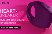 25% OF LELO's Bestsellers for Valentine's Day