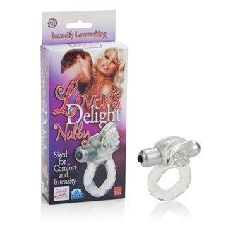 California Exotic Lover's Delight Nubby - Vibrating erection enhancement ring.