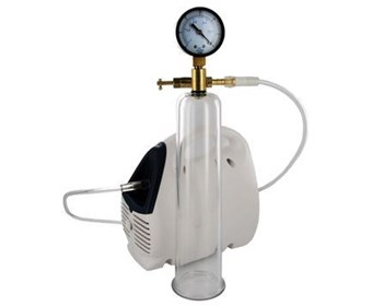 Size Matters Bionic Electric Pump with Cylinder - A deluxe pump for continuous pressure