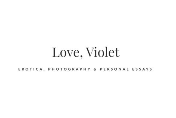 Sex Blogger of the Month: Violet Fawkes of Love, Violet