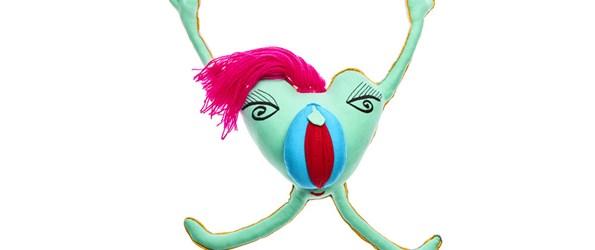 My little yoni vulva doll in turqoise