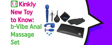 New Toy to Know: b-Vibe Anal Massage Set