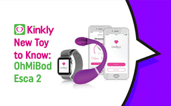 New Sex Toy to Know showing OhMiBod Esca 2