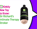 New Toy to Know Sir Richards Intimate Therapy Stroker