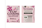 California Exotic Toy Covers Single Pack Small - Sanitary vibrator cover sleeve.
