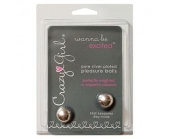 Fleshlight Crazy Girl Pleasure Balls - A pair of discreet pleasure balls to strengthen your PC muscles