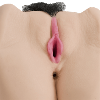 Doc Johnson Sasha Grey UR3 Deep Penetration Vibrating Pussy & Ass - A lifelike vibrating masturbator designed for deeper penetration