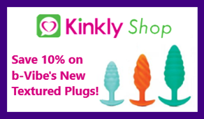 Save 10% on b-Vibe's new Textured Plugs