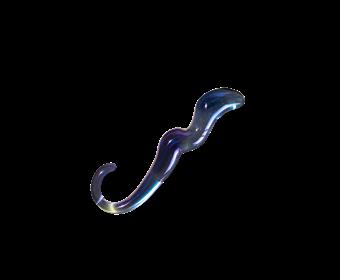 Unbound Stellar Dildo - A beautifully made glass dildo with stellar curves.