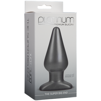 Doc Johnson Super Big End Butt Plug - A plug designed to provide the ultimate in fullness and pleasure with total ease of use.