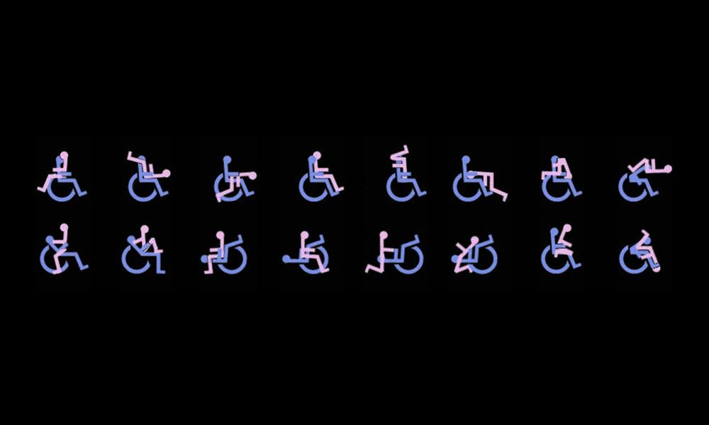 Sex position for disabled