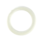 California Exotic Rubber Ring - White Small - Rubber enhancement rings.