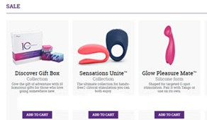 Get Up to 50% Off at We-Vibe