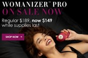 Get $50 Off the Womanizer Pro